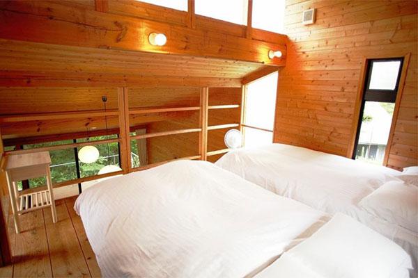 コテージ 特別室(C-1):ベッド2台完備
